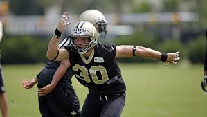 Saints' Erik Harris determined to return from ACL injury