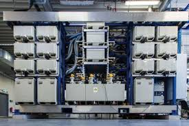 hydrogen power plant pilot a first for