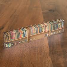 bookshelf background name plate
