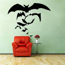 Halloween Witches Flying Home Creative Wall Stickers Bats Vinyl Wall Stickers Vinyl Wall Decal Decoration Lower Price Vinyl Wall Decals Wall Decalsvinyl Wall Aliexpress