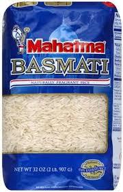 mahatma basmati rice 32 oz nutrition