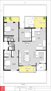 a simple 3 bedroom house design with