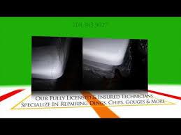 bathroom porcelain repair resurfacing