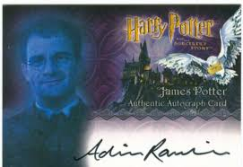 Harry Potter Sorcerers Stone Autograph Adrian Rawlins as James ...