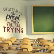 School Wall Decals Classroom Wall Window Art Simple Stencil Classroom Lettering