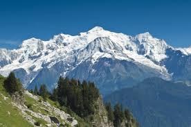 mont blanc france mounns