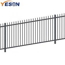 China Wholesale Price China Wrought Iron Fence Supply Rod Top Fence Yeson Factory And Manufacturers Yeson