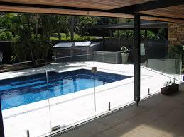 glass pool fencing mini post