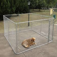 Outdoor 10x10ft Large Dog Kennel Metal Pet Enclosure Playpen Durable Cage House For Sale Online Ebay