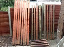 Garden Wooden Fence Posts For Sale In Drumcondra Dublin From Clonturk