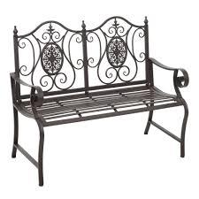 outsunny outdoor 2 person garden bench
