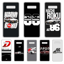 Super Car Animation Ae86 Initial D Transparent Phone Case For Samsung Galaxy S 7 8 9 10 11 20 A 20e 50 51 70 71 Plus Edge Ultra Phone Case Covers Aliexpress