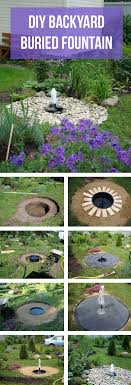 diy water feature ideas and designs