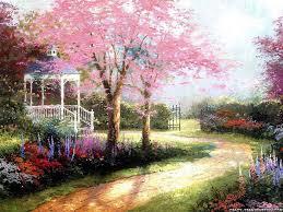 صور حقول زهور ليدي بيرد
