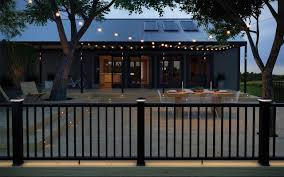 Choose Between Two Low Voltage Lighting Systems Clip And Pierce Available Are Transformers Cables Post Sconce Deckorators Deck Railings Trex Deck Lighting