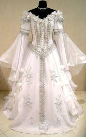 meval wedding dress witch celtic