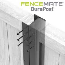 2 4m Dura Fence Posts Anthracite Grey Buy Online Uk Delivery