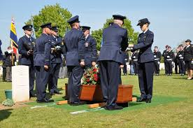 Spitfire Pilot Buried In France - Britain at War
