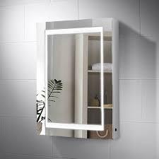 nimbus led illuminated bathroom cabinet