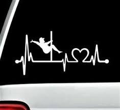 Mudflap Trucker Pole Dancer Heartbeat Lifeline Decal Sticker Fat Man Dancing Ebay