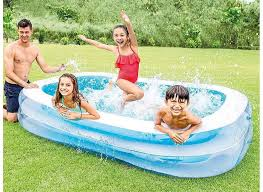 Intex Pool Bestway Family Kids Large Swimming Pool 10ft Pool Water With The Easy To Use Drain Valve Lazada Ph