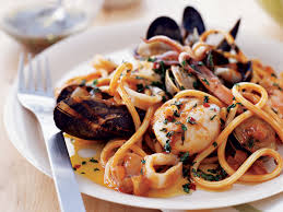 Seafood Pasta with Tuscan Hot Oil ...