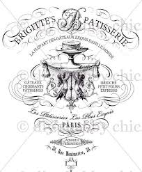 Furniture Decals Shabby Chic French Image Transfer Vintage Etsy