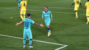 barcelona win against villarreal