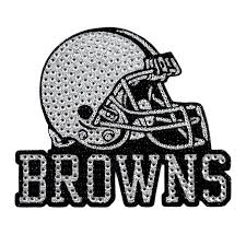 Cleveland Browns Bling Car Auto Emblem Adhesive Decal