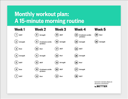 a 15 minute morning workout routine you