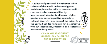 home global campaign for peace education