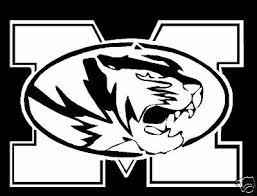 Missouri Tigers Vinyl Decal Ebay