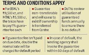 BSNL, MTNL clinch Rs 15,000-cr sovereign guarantee ...
