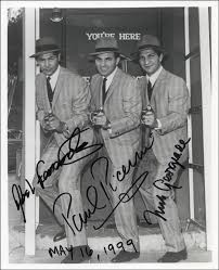 Untouchables TV Cast - Autographed Signed Photograph 05/16/1999 co-signed  by: Paul Picerni, Nick Georgiade, Abel Fernandez | HistoryForSale Item  325168
