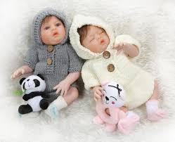 new 48cm newborn baby doll twins boy