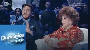 Il regalo di Andrea Piazzolla per Gina Lollobrigida - Domenica in  20/01/2019 - YouTube