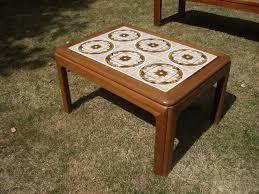 retro tiled coffee table coffee table