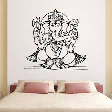 Ganesha Goddess2 Vinyl Wall Art Decal