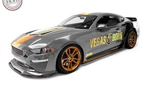 Stay Golden Ford Mustang Gt Gets Vegas Hockey Makeover For Auction