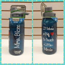 Finally Not Too Cheesy Practical Teachers Gift Idea Contact Us With For A Custom Saying Or Design We Water Bottle Decal Teacher Water Bottle Teacher Gifts