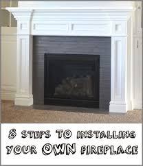 installing gas fireplace in basement