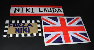 rush selection of homemade banners