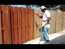 Fence Support Bracket How To Stain A Fence With A Roller