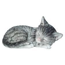arts 18cm tabby sleeping kitten