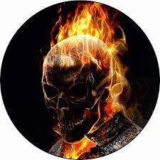 Sticker Emblem Logo Ghost Rider Stickersmag