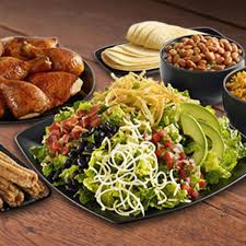 mexican cobb family salad el pollo