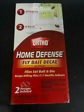 Ortho Home Defense Fly Bait Decal Flying Insect Control Pest For Sale Online Ebay