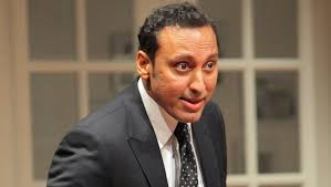 Aasif Mandvi is 'Disgraced' on stage