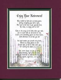 poem for retirement gift present 203