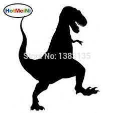 Tyrannosaurus Rex Silhouette Vinyl Car Window Decal Bumper Sticker Us Seller Ushirika Coop